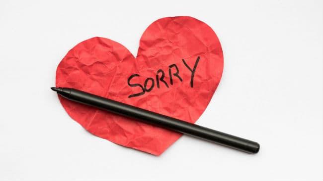 Life Coaching Tip: Ζήτησε συγνώμη αποτελεσματικά